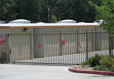 Locked Gate - Simply Self Storage, Sonora, CA