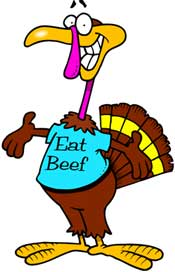 Happy Thanksgiving - Don't forget the Beef!