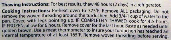 Turduchen Instructions