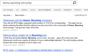 Bing News search results: hanna wyoming microchip